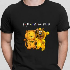 Baby Pooh and Scooby Doo Friends shirt