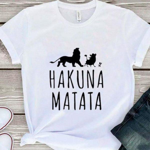 Disney Hakuna Matata The Lion King 2019 shirt