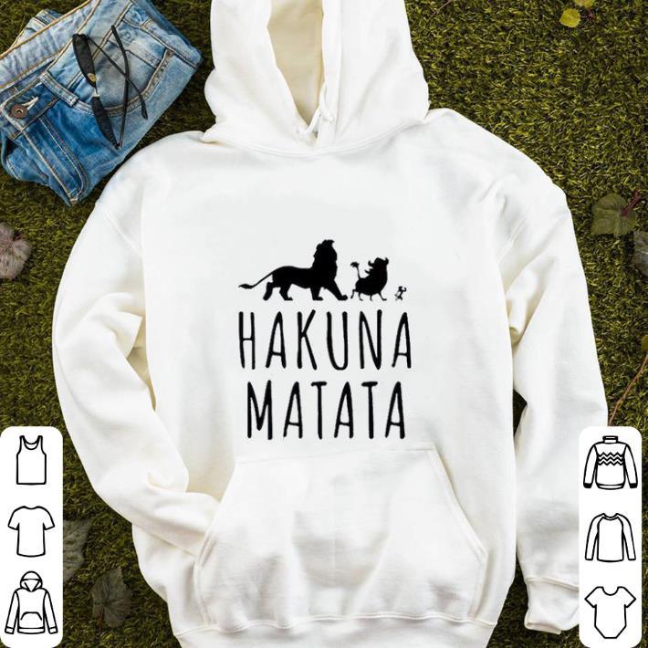 Disney Hakuna Matata The Lion King 2019 shirt 4 - Disney Hakuna Matata The Lion King 2019 shirt