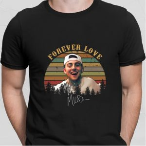Forever Love signature Mac Miller sunset shirt