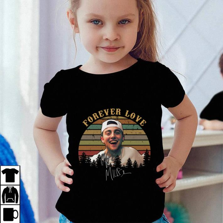 Forever Love signature Mac Miller sunset shirt 4 - Forever Love signature Mac Miller sunset shirt