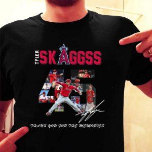 Los Angeles Angels of Anaheim Tyler Skaggs signature shirt