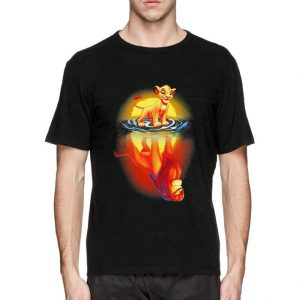 Mufasa In Simba's Reflection Lion King shirt sweater
