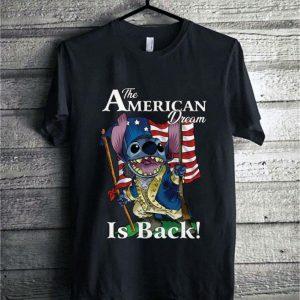 Stitch The American dream is back American flag shirt