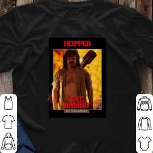 Stranger Things 3 Fat Rambo Jim Hopper shirt 2