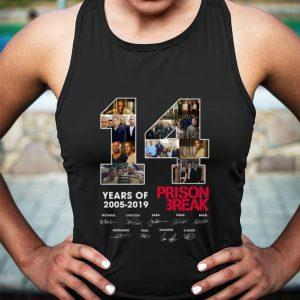 14 Years Of Prison Break 2005-2019 signatures shirt sweater 2