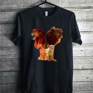 Baby Simba and adult Simba The Lion King 2019 shirt sweater