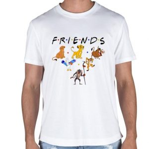 Friends Characters The Lion King 2019 shirt