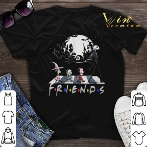 Halloween Friends The Nightmare Before Christmas Abbey Road shirt