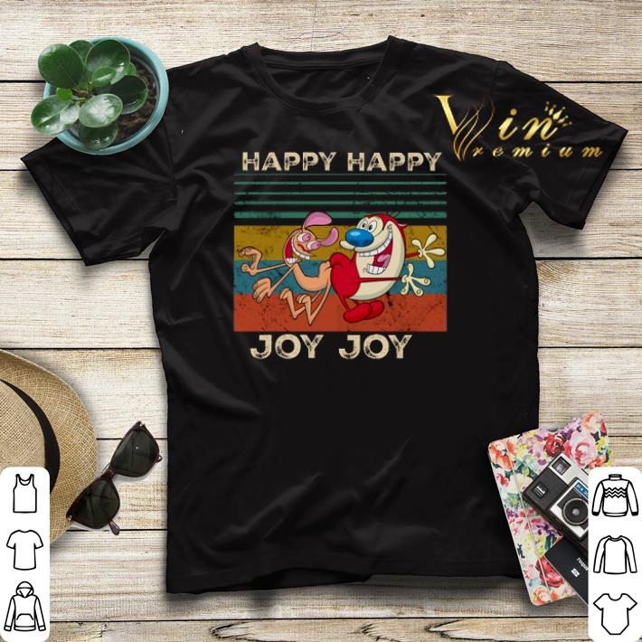 Happy Happy Joy Joy The Ren Stimpy Show Vintage shirt 4 - Happy Happy Joy Joy The Ren & Stimpy Show Vintage shirt