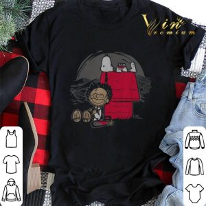 Leatherface and Snoopy's House shirt sweater