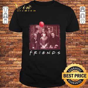 Pennywise Friends TV Show Scariest Horror Movies characters shirt