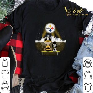 Pittsburgh Steelers Snoopy and Charlie Brown shirt