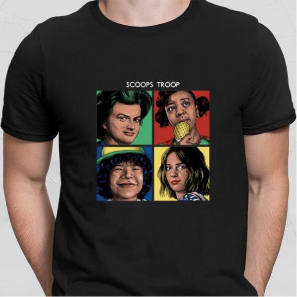 Scoops Troop Stranger Things 3 shirt sweater