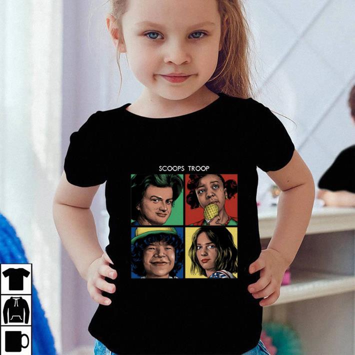 Scoops Troop Stranger Things 3 shirt sweater 4 - Scoops Troop Stranger Things 3 shirt sweater