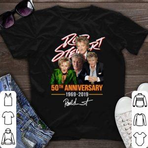Signature Rod Stewart 50th anniversary 1969-2019 shirt