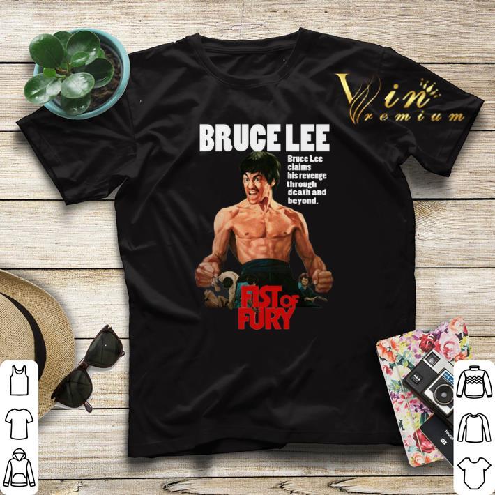 Bruce Lee Fist of Fury shirt sweater 4 - Bruce Lee Fist of Fury shirt sweater