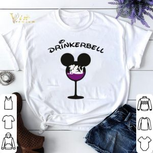 Drinkerbell Mickey mouse glass shirt sweater