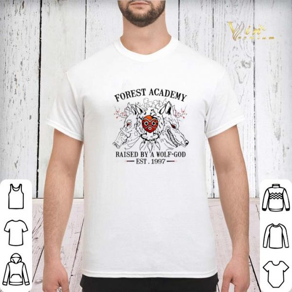 Forest Academy raised by a wolf-god Est. 1997 shirt sweater
