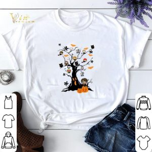Halloween Harry Potter pumpkin ghost boo on the tree shirt