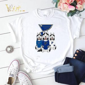 Husky dogs St. Louis Blues shirt sweater