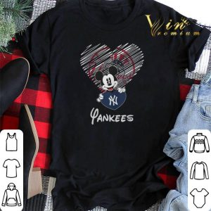 New York Yankees Mickey Mouse shirt 1