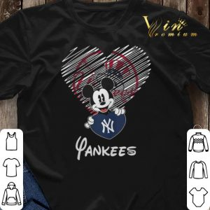 New York Yankees Mickey Mouse shirt 2