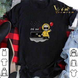 Oh ShIT Jason Voorhees Georgie Denbrough Pennywise shirt