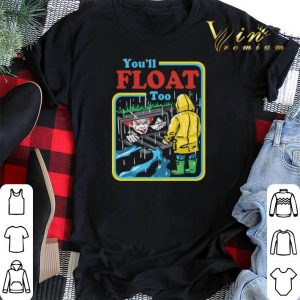 Pennywise IT you'll float too shirt sweater