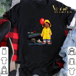 Pennywise Oh ShIT Chucky Georgie Denbrough shirt sweater