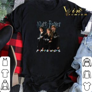 Signatures Harry Potter characters Friends shirt