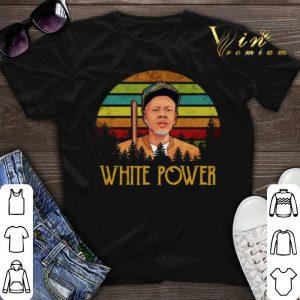 White Power Sunset shirt sweater