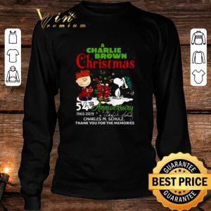 A Charlie Brown Christmas 54th anniversary Charles M. Schulz shirt 2