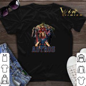 Avengers Endgame Characters Houston Astros shirt