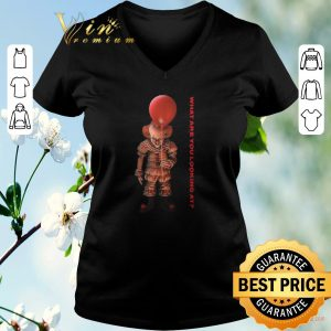 Awesome Pennywise IT what are you looking at shirt sweater