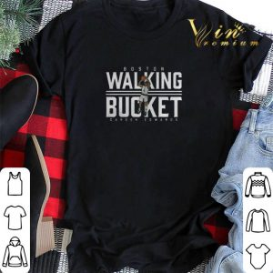 Carsen Edwards Boston Walking Bucket shirt swaeter