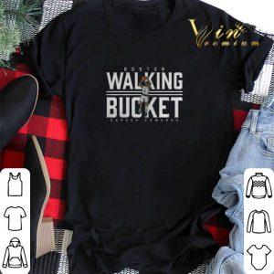 Carsen Edwards Boston Walking Bucket shirt swaeter
