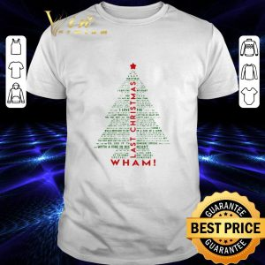 Cheap Wham Last Christmas Tree shirt