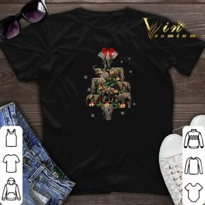 Christmas Trees Elephants shirt