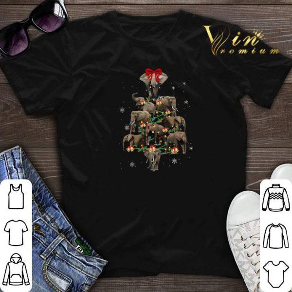 Christmas Trees Elephants shirt