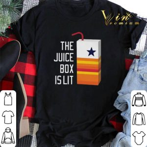 Dallas Cowboy The juice box is lit Houston Astros shirt sweater