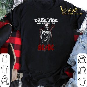 Darth Vader come to the dark side we listen to ACDC shirt sweater