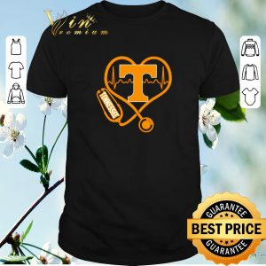 Funny Love Tennessee Volunteers Stethoscope Heartbeat nurse shirt sweater