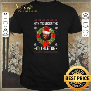 Funny Mike Tyson Hith me under the Mithletoe Christmas shirt sweater
