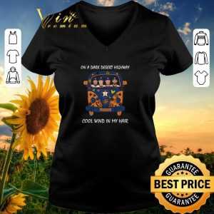 Hot Houston Astros on a dark desert highway cool wind in my hair shirt sweater