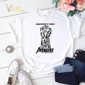Infinity Gauntlet Whatever It Takes Avengers Let's End This Game shirt sweater