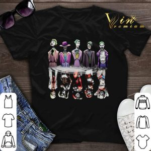 Joker reflection mirror water Harley Quinn shirt sweater