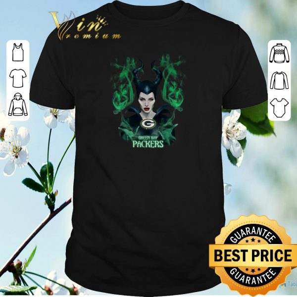 Nice Maleficent Green Bay Packers shirt sweater