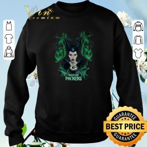 Nice Maleficent Green Bay Packers shirt sweater 2