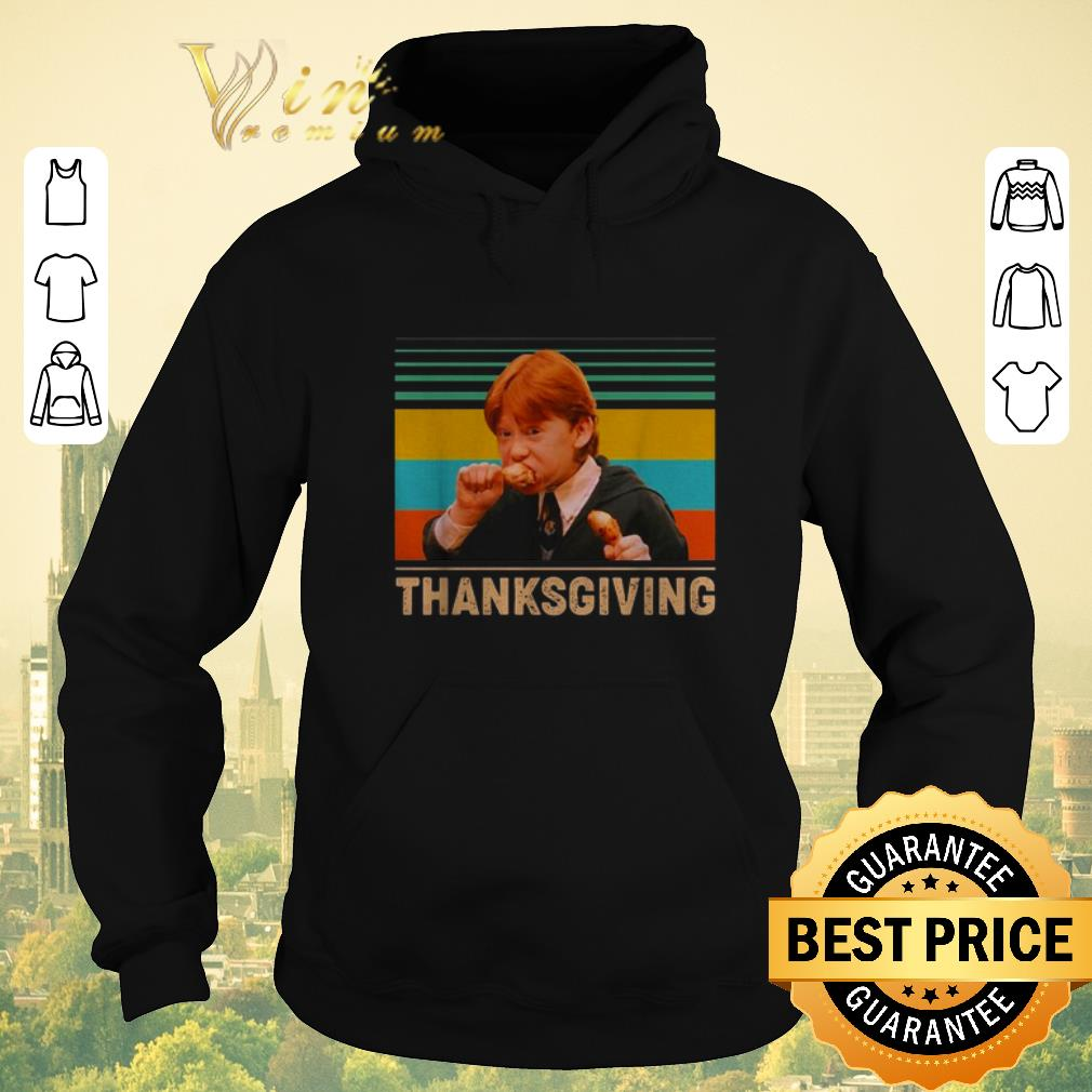 Official Vintage Ron Weasley eating chicken Thanksgiving shirt 4 - Official Vintage Ron Weasley eating chicken Thanksgiving shirt